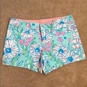 Lilly Pulitzer Callahan Shorts Size 14